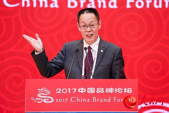 中国中车副总经济师、企业文化部部长曹钢材发言。