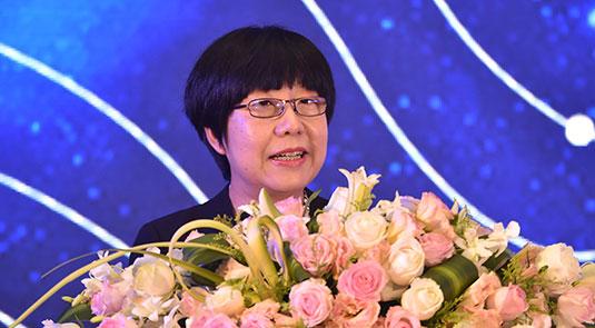 人民网副总裁唐维红致辞