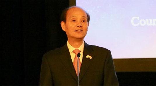 中国驻旧金山总领事罗林泉致辞