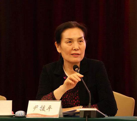 中国企业联合会、中国企业家协会执行副会长尹援平讲话。