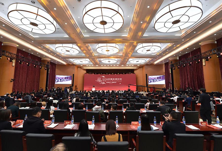 2018中国品牌论坛在京举行