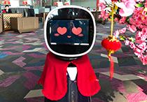 """机器人""""东东"""":一天接待2000人次"""