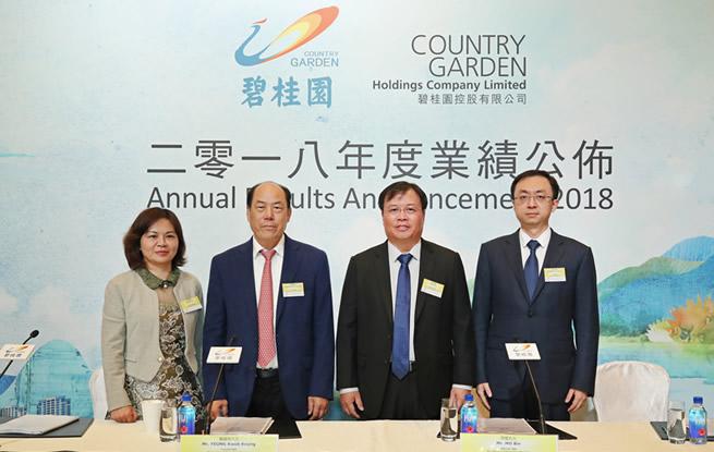碧桂园财报保持高增长 主业稳健加码高科技